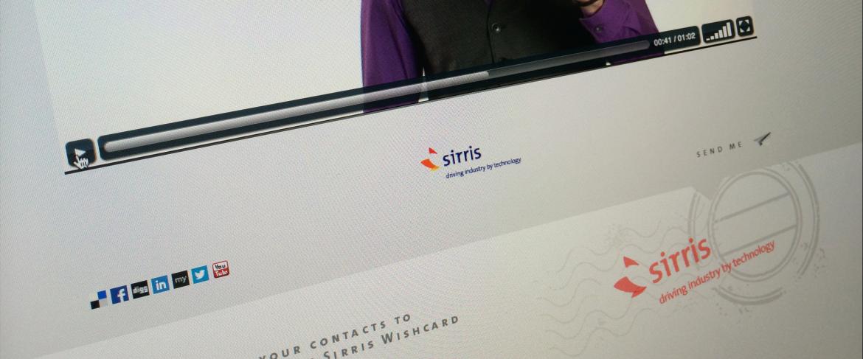 Sirris 2012 Greetings e-Card